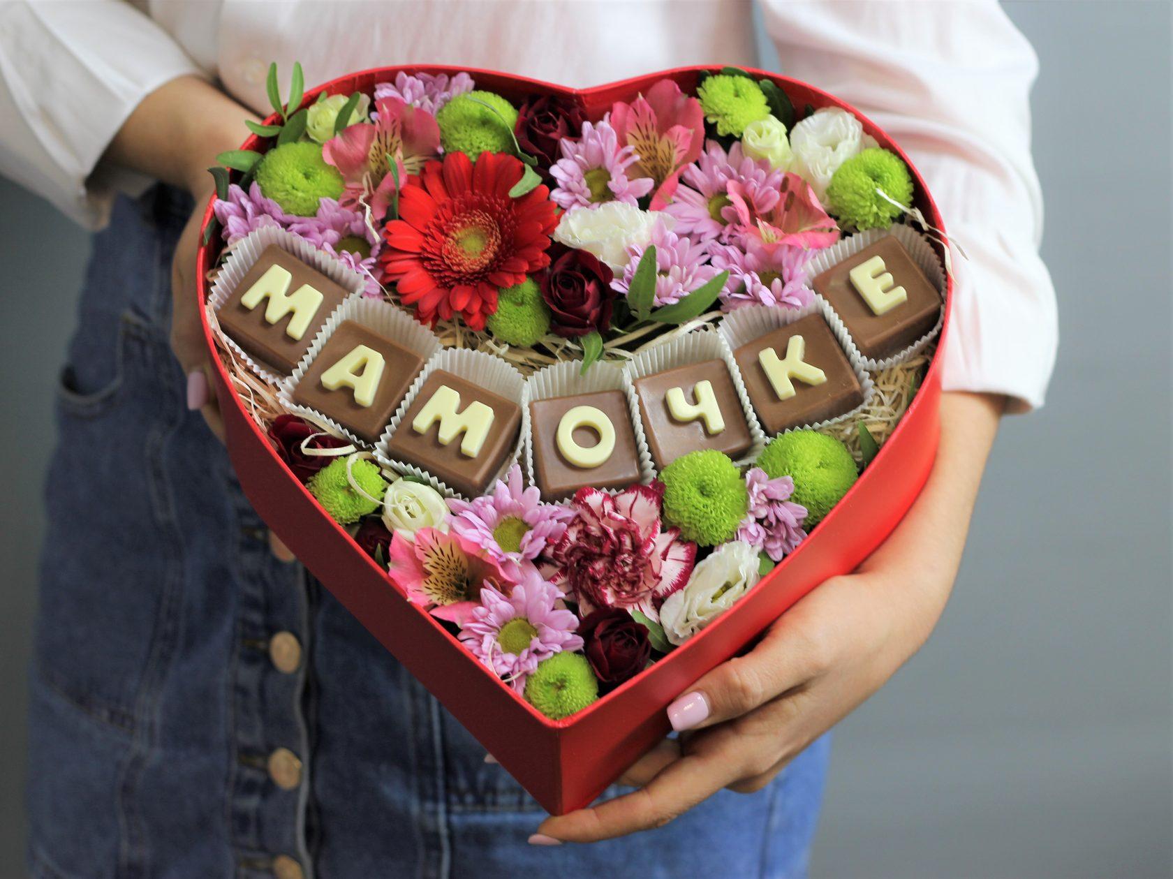 Доставка цветов для мамы