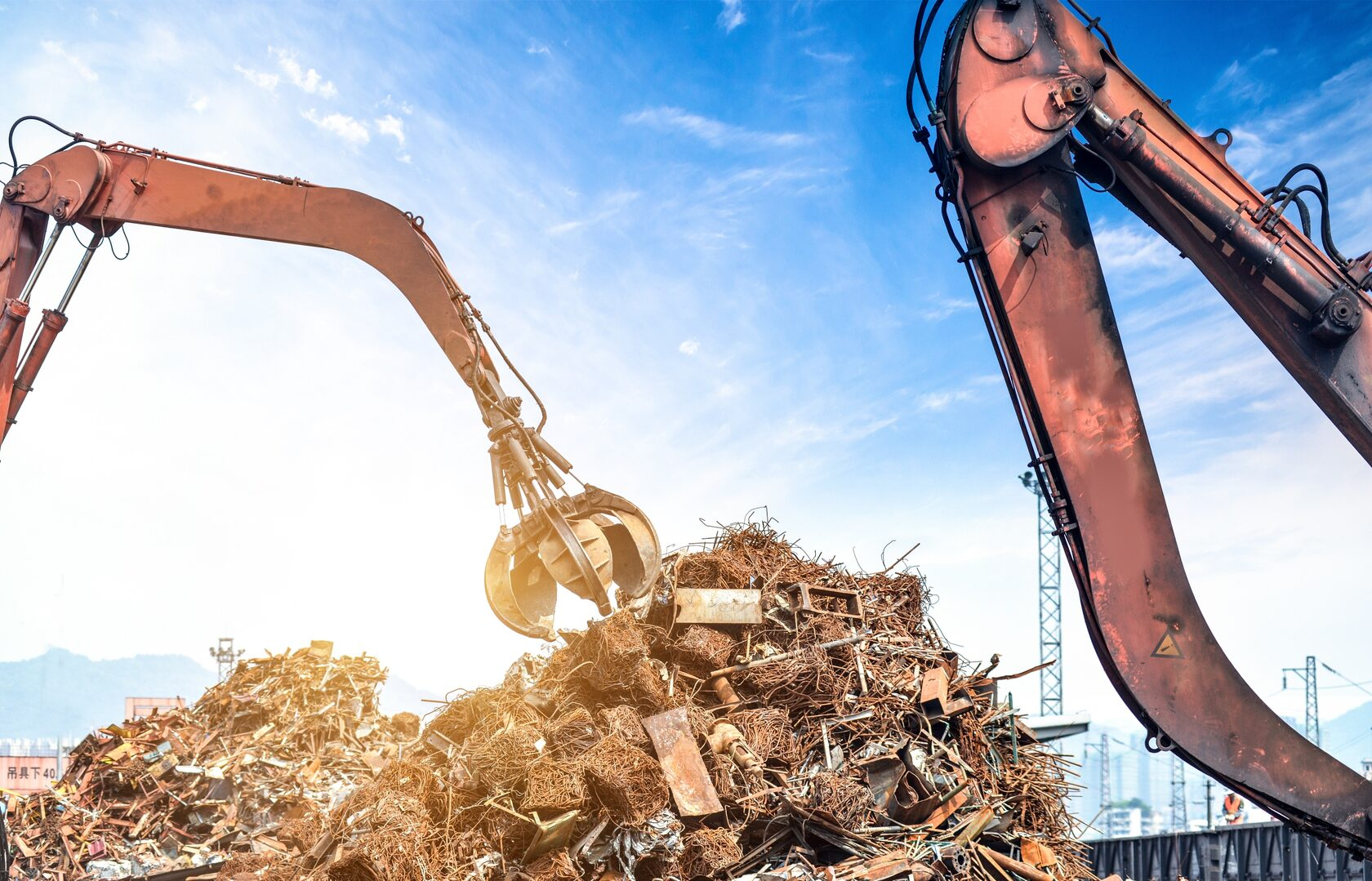 Металлический мусор как вторсырье