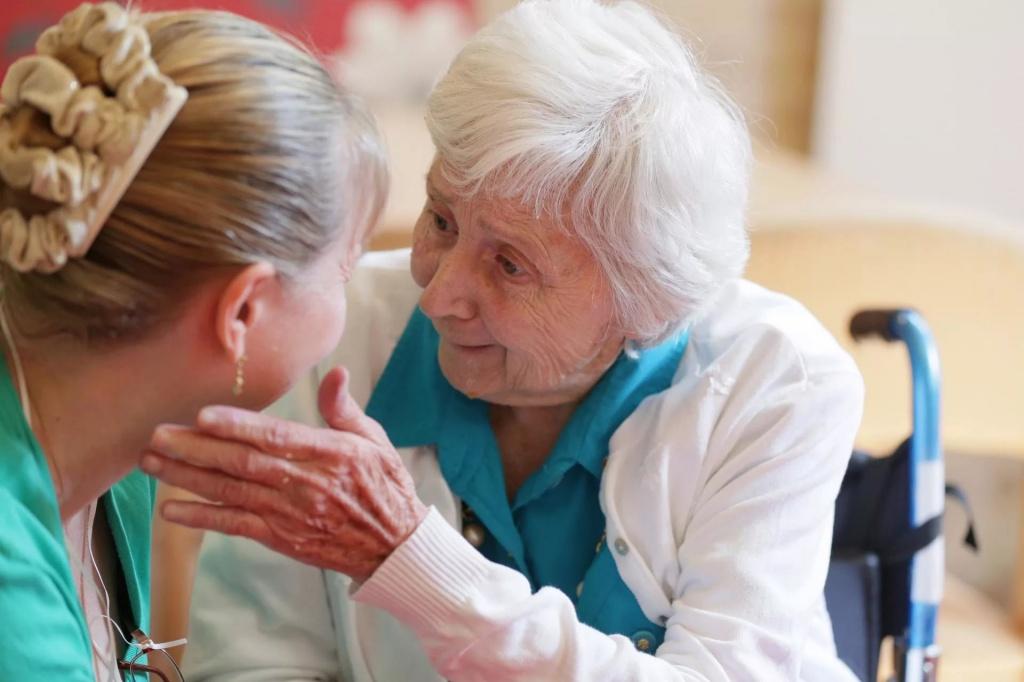Кто может помочь пациенту с деменцией?