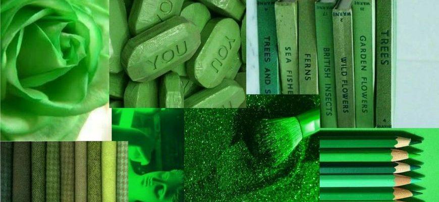 Секреты зелёного цвета в психологии